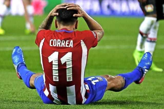 Bayer Leverkusen bringt Atlético nicht ins Wanken