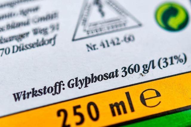 EU-Gutachten: Glyphosat nicht krebserregend