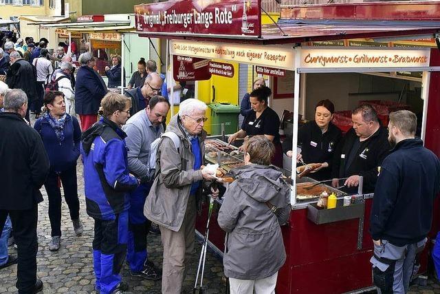 Verärgerung über die Wurst-und-Burger-Posse auf dem Münstermarkt