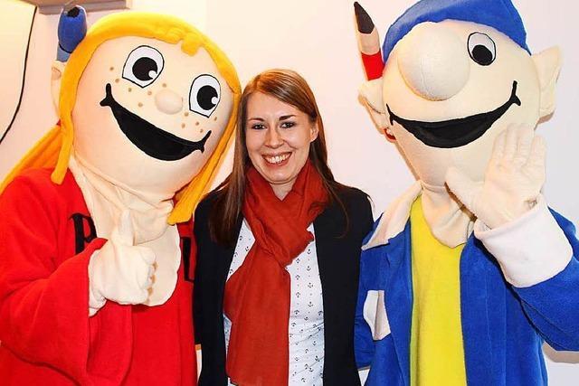 SPD-Generalsekretärin Luisa Boos stellt sich Fragen von Zisch-Reportern
