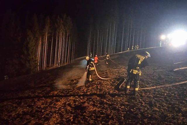 Waldarbeiterfeuer und Lagerfeuer führen zu Flächenbränden