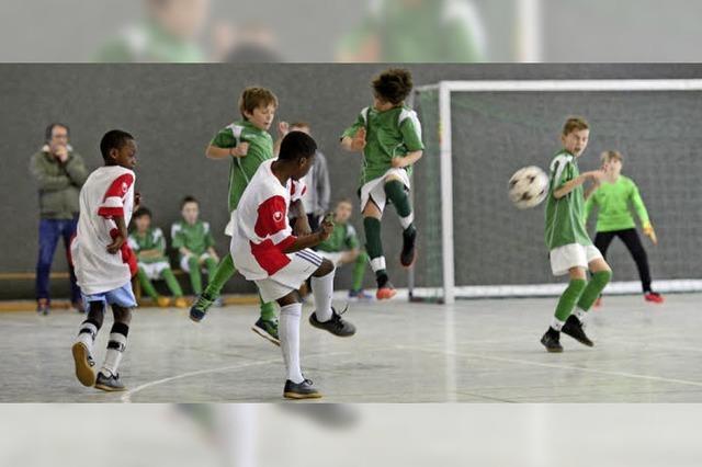 Lorettoschule holt Titel in der Fußball-Stadtmeisterschaft der Grundschulen
