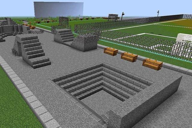 Bad Krozinger Jugend entwickelt Skatepark per Minecraft