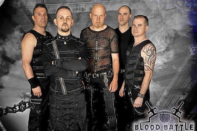 Wettkampf von fünf Metalbands im Alten Wasserwerk Lörrach