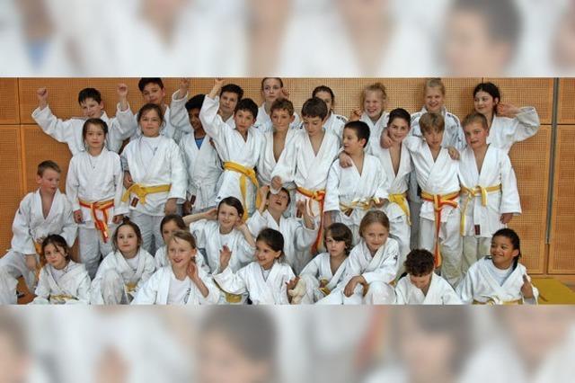 Weiler Schulen im Judo weit vorne