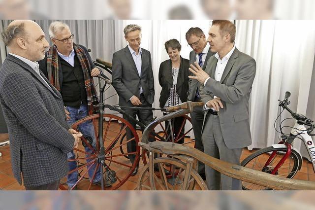 Ausstellung im Lörracher Dreiländermuseum: 200 Jahre Fahrrad