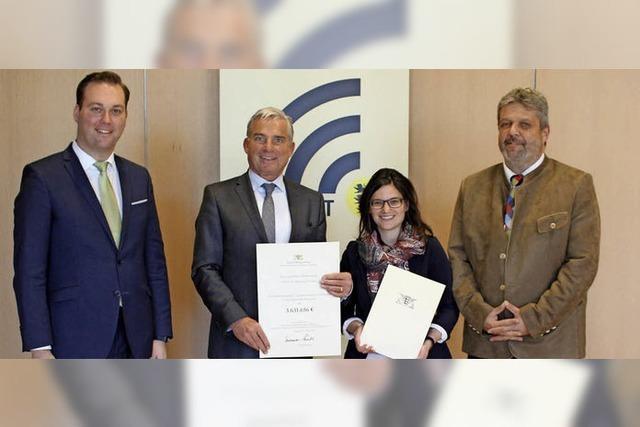 Land bezuschusst Breitbandausbau mit 3,6 Millionen Euro