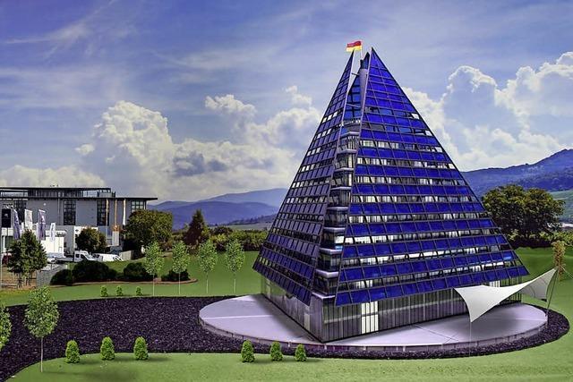 Solar-Tetraeder soll die neue Firmenzentrale von Te-Trade werden