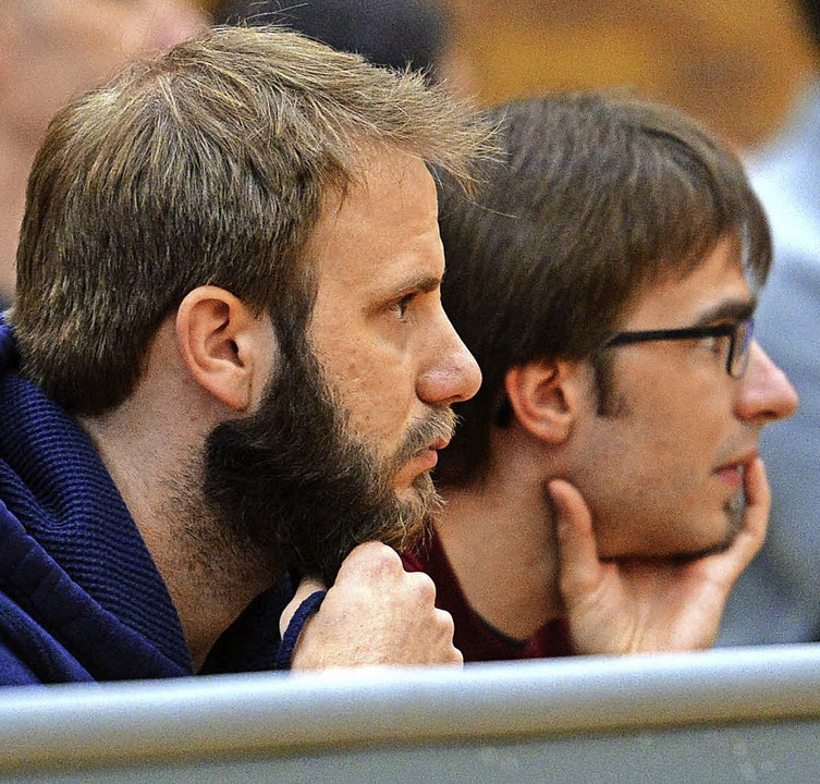 Zwei Taktikfüchse: Patrick (links) und Martin Huber     Foto: Seeger