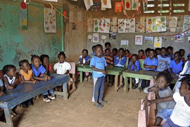 Grundschüler helfen Waisen in Haiti