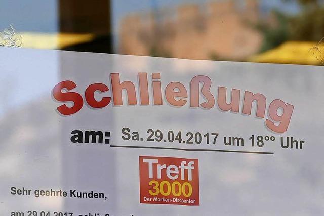Treff 3000 schließt: Die Nahversorgung in Staufen leidet
