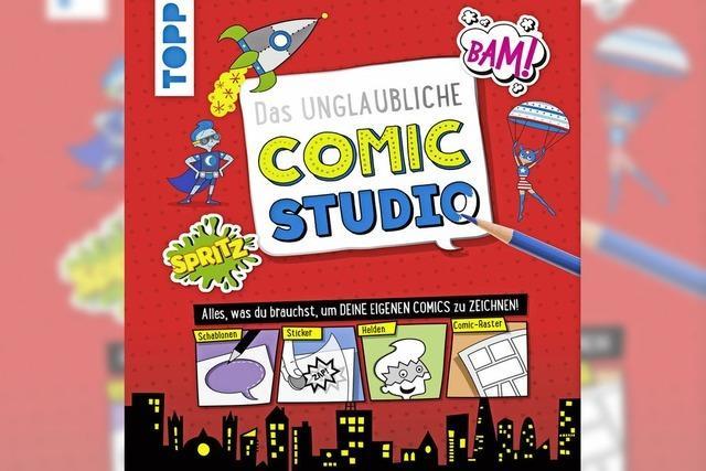 BUCHTIPP: Comics selbst gemacht