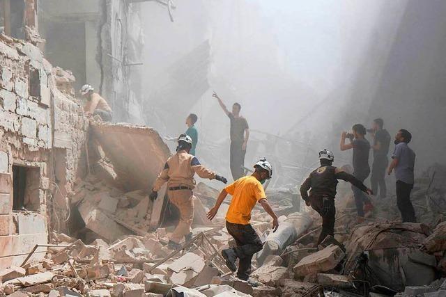 US-Militär greift Moschee in Syrien an – viele Tote