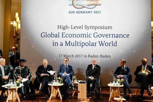 G20-Treffen von Forderung nach Politikwechsel begleitet