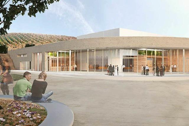 Bau der Stadt- und Sporthalle verschiebt sich bis 2018