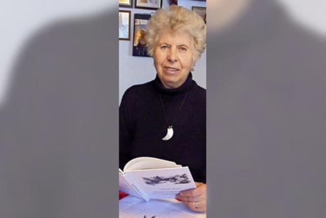 Gisela Kunz hat Erinnerungen an alteingesessene Familien in Buch veröffentlicht