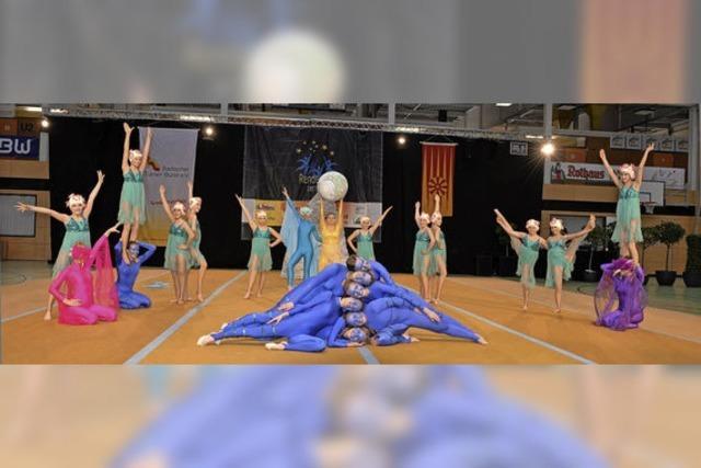 Showgruppe beim Bundesfinale in Berlin