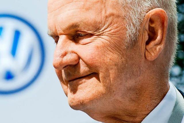 Volkswagen: Patriarch Piëch zieht sich zurück