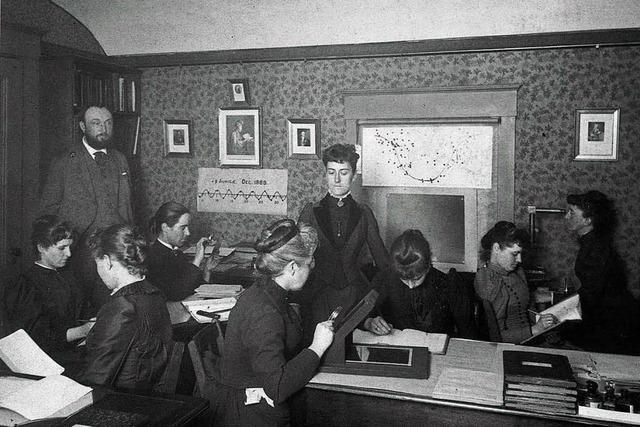 Wie Frauen die Datengrundlage der Astronomie schufen