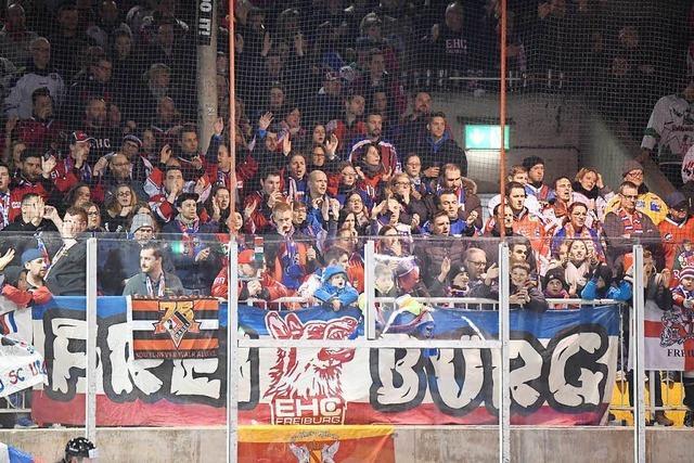EHC Freiburg - Olé! Fans hören einfach nicht auf zu singen