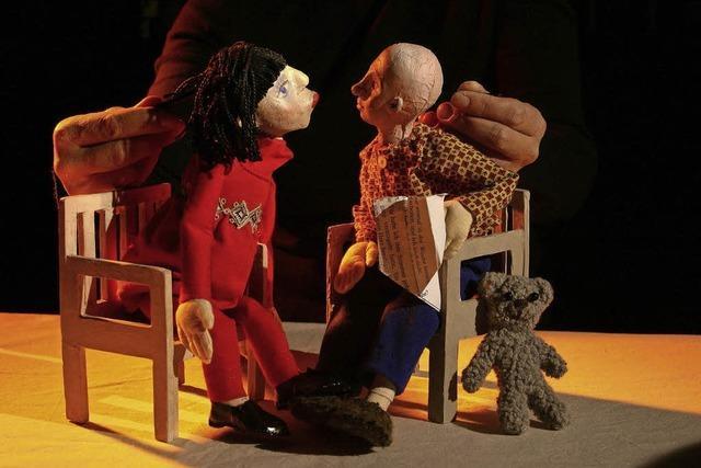 Oskar und die Dame in Rosa mit dem Figurentheater Cornelia Fritzsche aus Dresden im