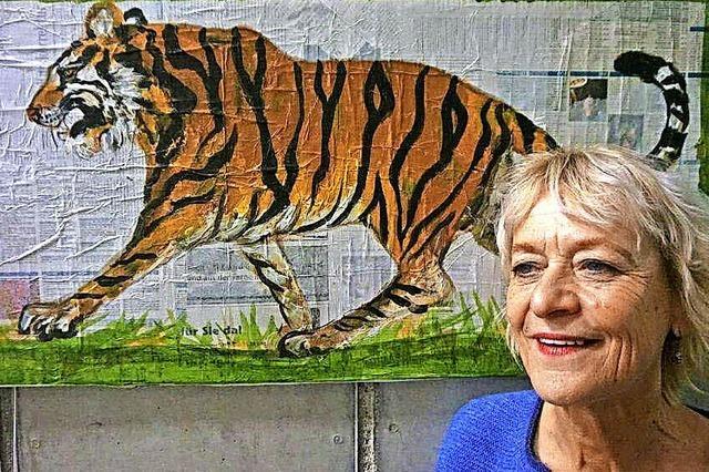 Von Bewunderung geprägte Tierporträts