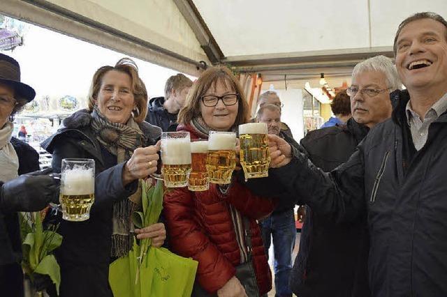 Drei neue Fahrgeschäfte auf dem Frühlingsfest im Tutti-Kiesel-Areal