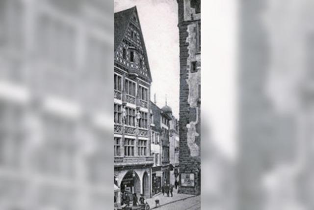 In der Kaiser-Joseph-Straße 231 war einst Freiburgs ältestes Lederwarengeschäft