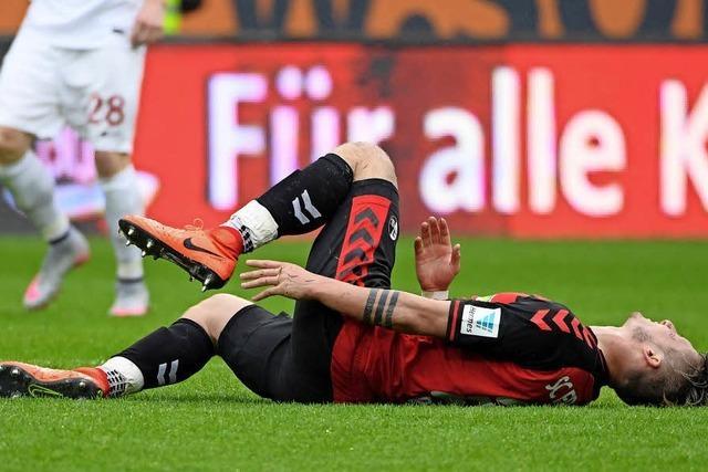Die Leistung der SC-Spieler in Augsburg in der Einzelkritik