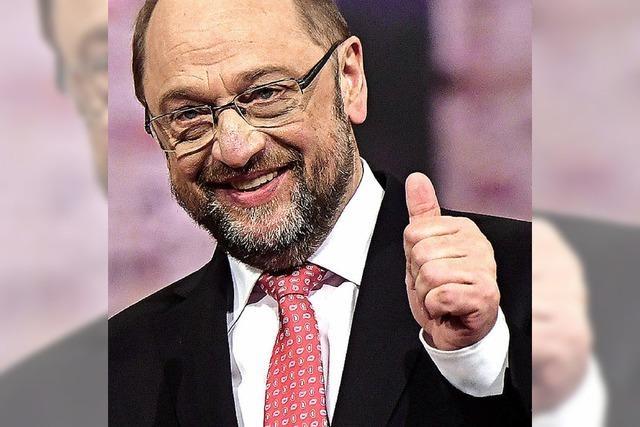 100 Prozent für Schulz