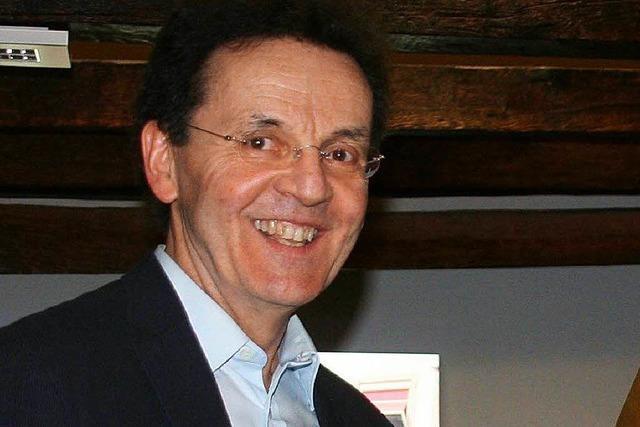 BZ-Redaktion Wiesental verabschiedet Hermann Jacob