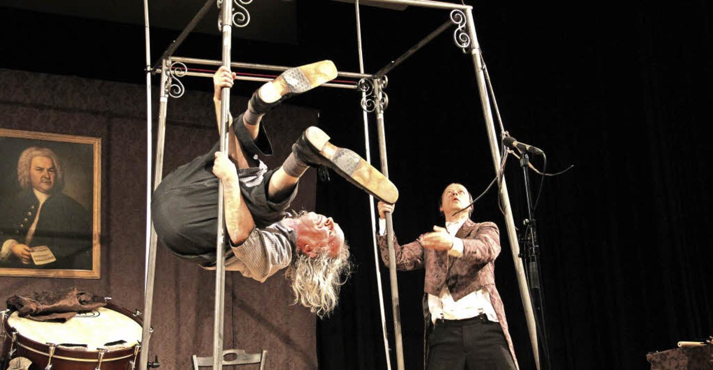 Nach 25 Jahren gemeinsamer Bühnenshow ...d verblüffender Musikalität eingebüßt.  | Foto: Sabine Model