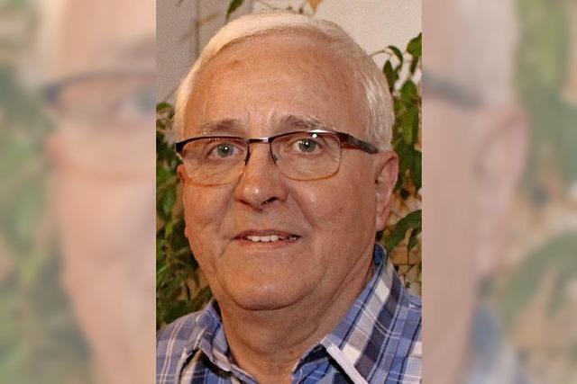 Peter Eble aus Mietersheim hat schon 75 Mal Blut gespendet.