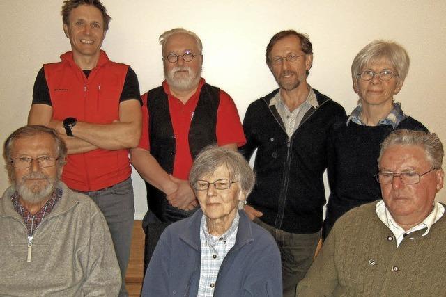 Seit Jahrzehnten im Alpenverein