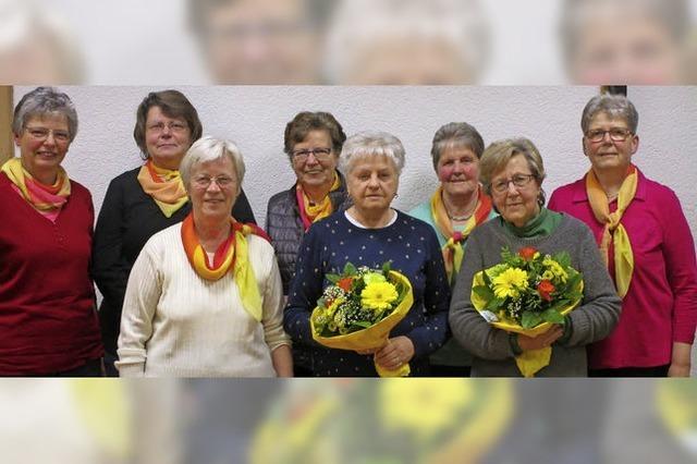 Frauen mit neuem Vorstand