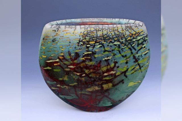 Martin Mindermann im Keramikmuseum Staufen