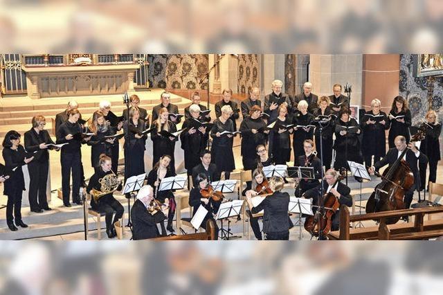 ChorNetto und das Projektorchester Camerata ChorNetto glänzen mit Brahms deutschem Requiem