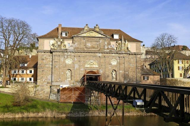 Fassade des Rheintors muss saniert werden