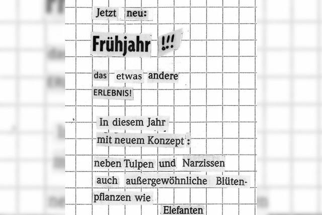 BADISCHE-ZEITUNG.DE: Zeitungspoesie