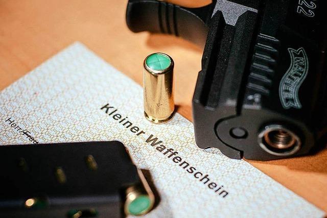 Immer mehr Menschen in Deutschland bewaffnen sich