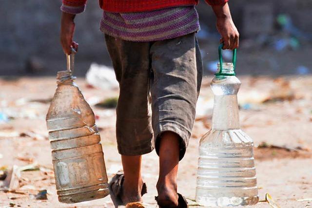 Zu wenig Wasser für Millionen Kinder