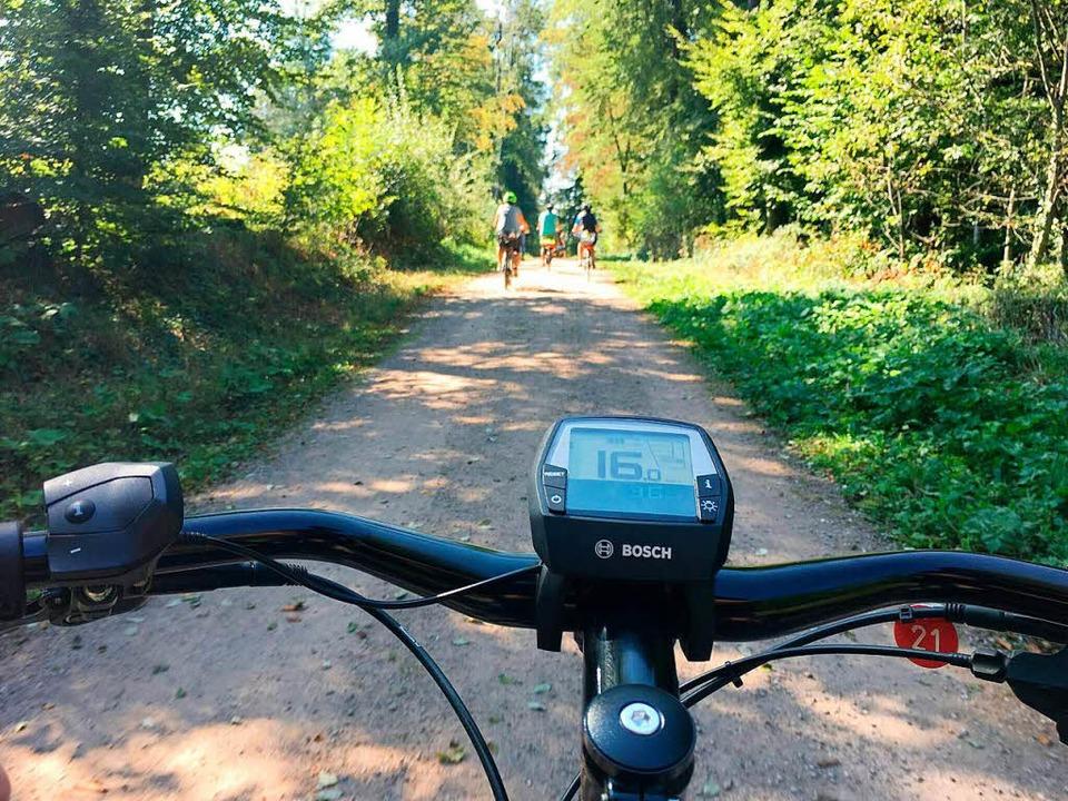 Bei einer Testfahrt können Sie rausfinden, ob Ihr E-Bike zu Ihnen passt.    Foto: Ekone
