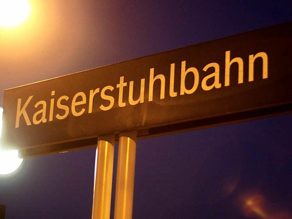 Kaiserstuhlbahn im Wandel: Ab April wi... Zügen fahren auf der Linie 101 Busse.    Foto: Martin Wendel