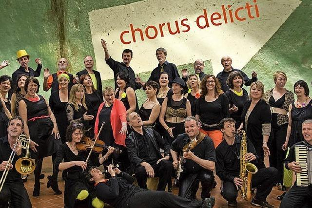 Chorus delicti meets Afropean Project bieten inspirierte multikulturelle Musik im Löwen
