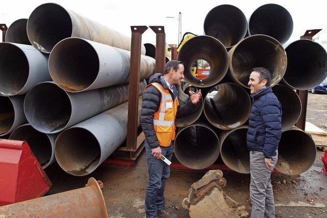 Mitte Mai soll Lärmschutzwand für drei Millionen Euro stehen