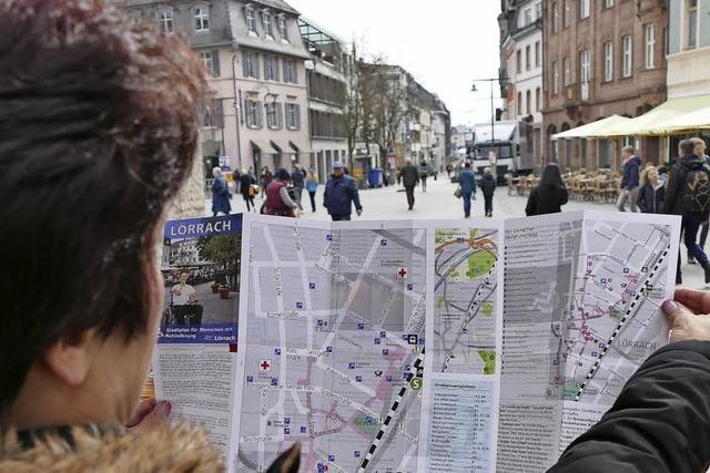 Lörrach bekommt einen neuen Behindertenstadtplan
