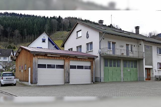 Unzeitgemäßes Feuerwehrgerätehaus