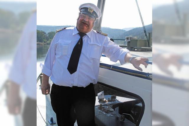 Kapitän Schroff dreht Ehrenrunde