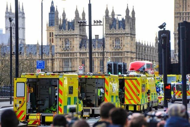 Angriff im Herzen Londons