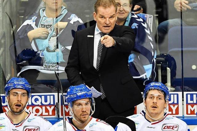 Mannheims Trainer Simpson droht SWR-Reporter nach Playoff-Aus